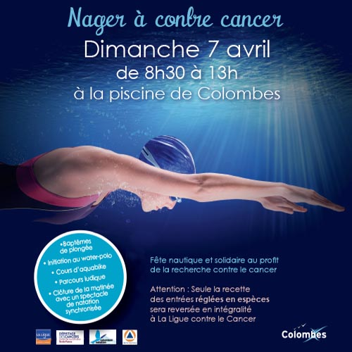 nager a contre cancer